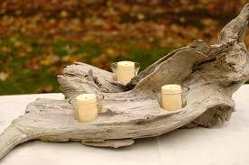 driftwood home decor diy driftwood candle holder hometalk