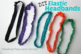 elastic headbands tutorial diy elastic headbands smashed peas carrots