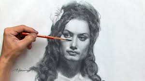 drawing the female portrait construction and abstraction methods