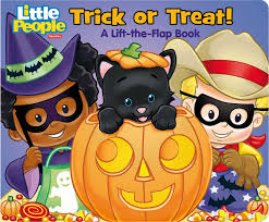 high resolution halloween images fisher price little people trick or treat book by fisher price