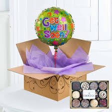 balloons and chocolate delivery balloons in a box gift free uk delivery flying flowers