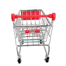 Mini Shopping Cart Desk Organizer Mini Shopping Cart Desk Organizer Supermarket Phone Storage Holder