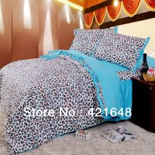 Cheetah Twin Comforter Free Shipping Luxury 3 4pcs Pink Leopard Bedding Set Twin Full