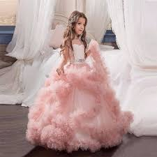 communion gowns 2017 new flower girl dresses blush pink communion gowns for