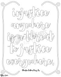 mary engelbreit coloring pages social justice printable coloring page mlk by radheartsprintlab