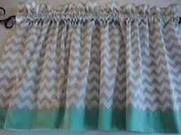 Gray And White Chevron Curtains Best 25 Chevron Valance Ideas On Pinterest Kitchen Valances