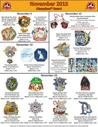 thanksgiving pins details on disneyland s november pin releases diskingdom