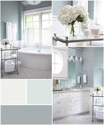 Color Scheme For Bathroom Sw 7006 Extra White Bm 715 In Your Eyes Sw 6234 Uncertain Gray
