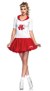 grease rydell high cheerleader women u0027s costume 1950 u0027s