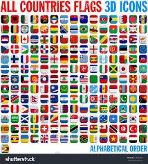 Flags Of Countries All Country Flags Complete Set 3d Stock Illustration 233254675