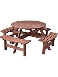 round picnic tables for sale picnic tables amazon com