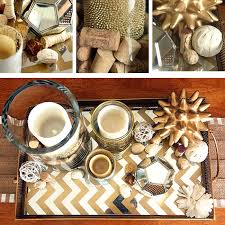 Coffee Table Decorations Coffee Table Decor For Everyday With Gold Mirror Tray