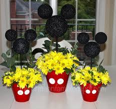 mickey mouse center pieces centerpieces mickey mouse party ideas centerpieces