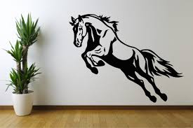 wall decoration horse wall decal lovely home decoration and