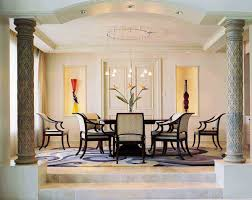 interior decorative columns elegant house tuscan wood column column dining room interior design teebeard beautiful up level floor modern formal what is interior