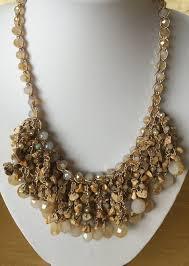 handmade statement necklace images La playa designer handmade glass bead statement necklace fashion jpg