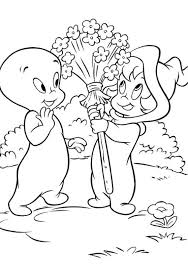 casper ghost coloring pages for kids cartoon coloring pages of