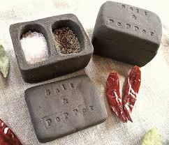 pepperpot wedding band ceramic salt and pepper pot by brick house ceramics