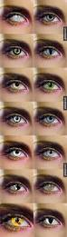 25 halloween eye contacts ideas colored
