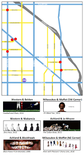 Map To Chicago by News Hank Willis Thomas Brings Bench Artworks And Lectures To