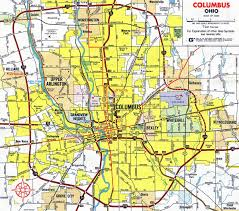 map of columbus map of 270 columbus ohio 270 columbus ohio map ohio usa
