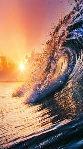 ocean explore wallpapers golden surfing wave sunset iphone 6 wallpaper iphone wallpapers