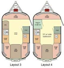 Small Rv Floor Plans Scamp 13 U0027 Small Travel Trailer Floorplans Small Picture Click
