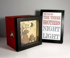Night Light Kids Room by Harry Potter Tale Of The Three Brothers Shadow Box Night Light