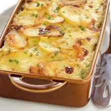 cuisiner pomme de terre gratin de pommes de terre aux poireaux facile cuisine az