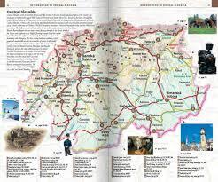 Slovakia Map Central Slovakia On Line Travel Guide Slovakia Travel