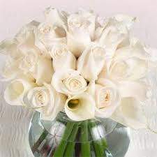 White Roses Centerpieces by Calla Lily Centerpieces Wedding Floral Arrangements Flowers