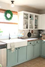 painted kitchen cabinet ideas freshome inside paint breathingdeeply