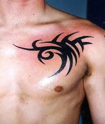 chest best tribal chest tattoos ink idea for