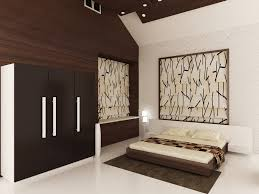 master bedroom this is decorated by giving laminate on the wall