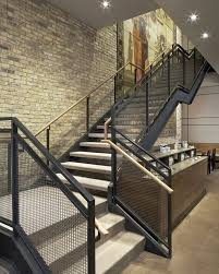 Industrial Stairs Design Industrial Stair Railing Home Design