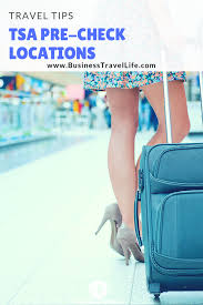 tsa precheck locations business travel life