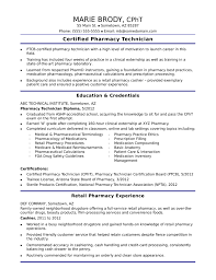 Pharmacy Resume Examples by Functional Pharmacy Technician Resume Template