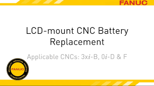 how to replace the battery on lcd mounted fanuc cncs youtube