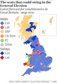 2016 Electoral Map Predictions 15 Days To The Election by Final Uk Election Polls Yougov Still The Outlier Predicts Tories