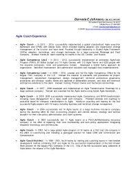 Life Coach Resume Examples by Gervais Johnson Agile Coach Details Resume
