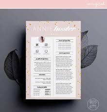 resume cv design cover letter template for word instant