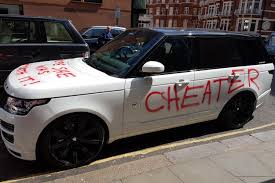 range rover back 2016 revealed the truth behind the u0027cheater u0027s u0027 spray painted range
