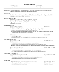 Best Resume Title For Freshers by Computer Science Resumes Strong Resume Headline Examples Also