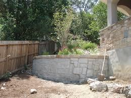home design decorative cinder blocks retaining wall patio living