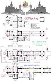 drachenburg castillo piso plan planos de casas pinterest fair
