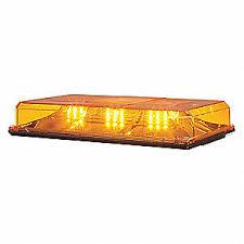amber mini light bar federal signal mini light bar 15 4 5 l amber 35gx18 454101hl 02