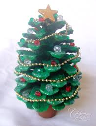 pine cone christmas tree crafts learntoride co