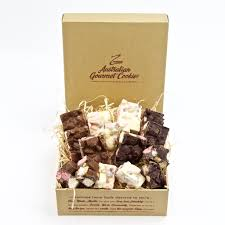 rocky road gift boxes 1kg and 2kg redzed cookies australia