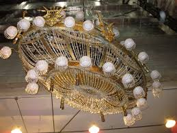 Phantom Of The Opera Chandelier Falling Backstage With