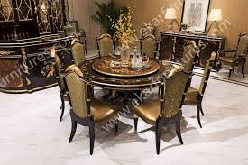 dining table with rotating alibaba wholesale italy antique wooden rotating dining table